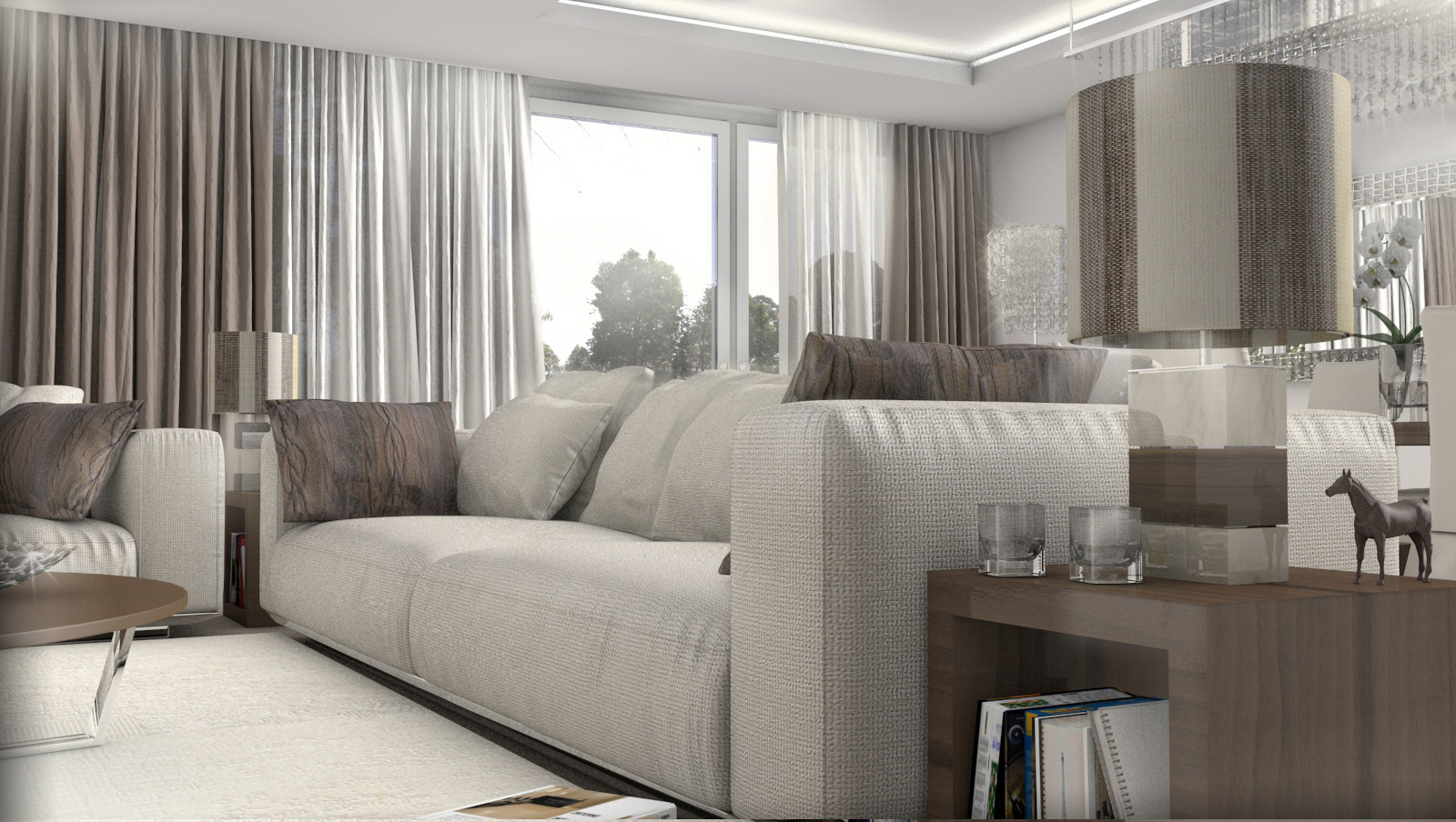 Beautiful Arredamento Classico-moderno Soggiorno Photos - Skilifts ...